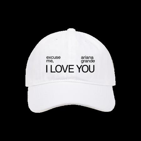 Ariana Grande: i love you dad hat
