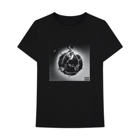 Yungblud: WEIRD! COVER BLACK T-SHIRT