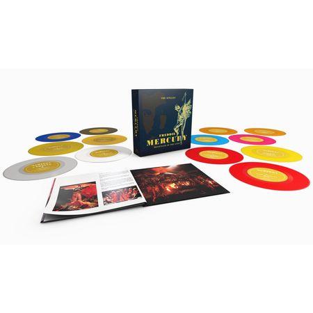 Freddie Mercury: Messenger Of The Gods: The Singles (Coloured 7
