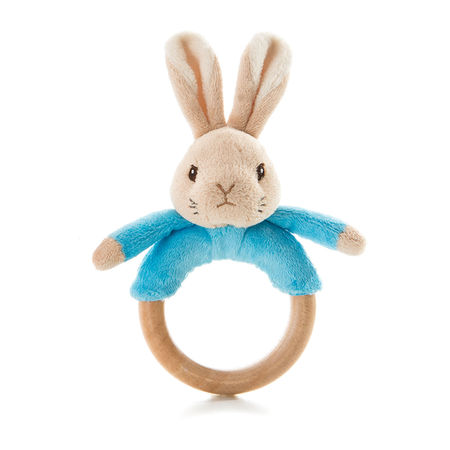 Peter Rabbit: Peter Rabbit Wooden Bean Rattle
