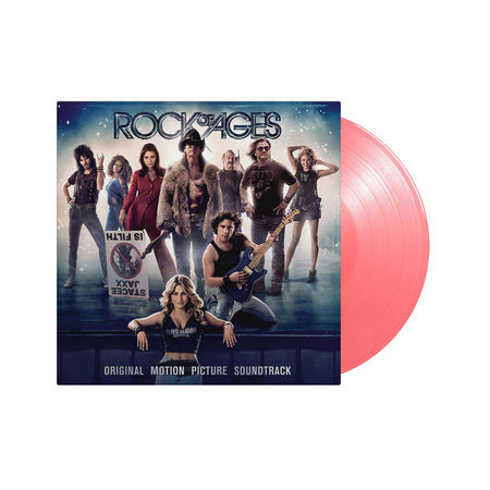Original Soundtrack: Rock Of Ages: Limited Edition Transparent Pink Coloured Vinyl