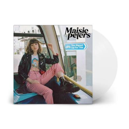 Maisie Peters: You Signed Up For This: Limited Edition White Vinyl LP