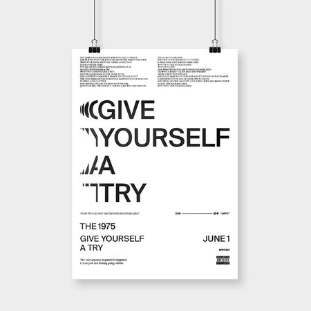 The 1975: Give Yourself A Try Art Print