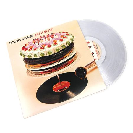 The Rolling Stones: Let It Bleed (Clear Vinyl)