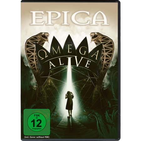 Epica: Omega Alive: Blu-Ray/DVD + SIGNED PHOTOCARD