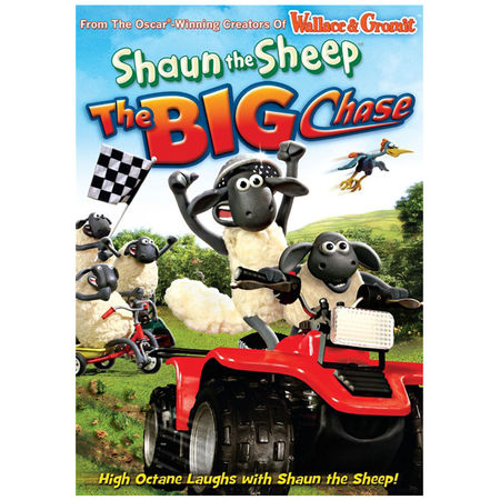 Shaun the Sheep: The Big Chase DVD