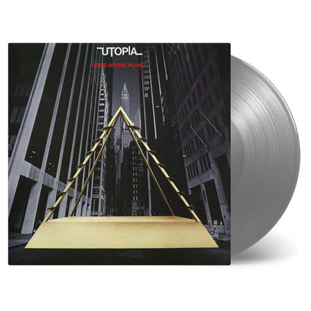Utopia: Oops Wrong Planet: Limited Edition Silver Vinyl