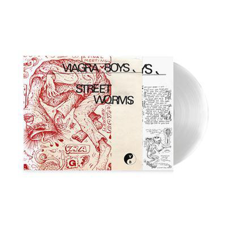 Viagra Boys: Street Worms: Signed Limited Edition Clear Vinyl with Fortune Cookie