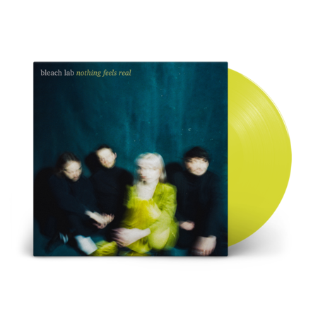 Bleach Lab : Nothing Feels Real: Signed Translucent Yellow Vinyl LP