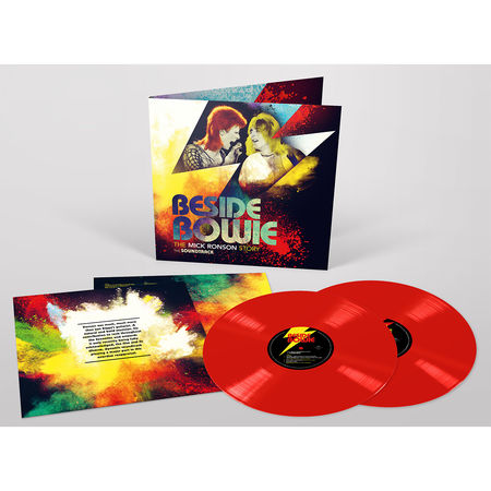 Various Artists: Beside Bowie: The Mick Ronson Story Soundtrack 2LP Red Vinyl