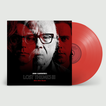 John Carpenter: Lost Themes III: Limited Edition Red Vinyl