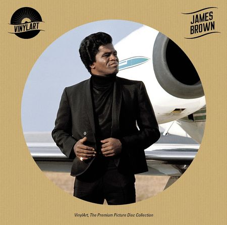 James Brown: VinylArt – James Brown Picture Disc