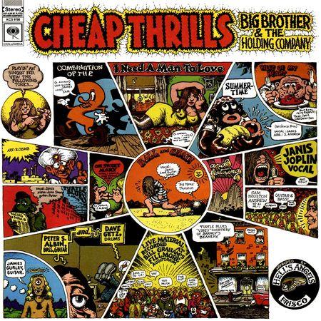Big Brother & The Holding Company: Cheap Thrills: Vinyl LP