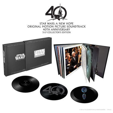 John Williams: Star Wars Episode IV: A New Hope - 40th Anniversary Box Set