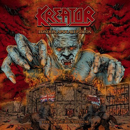 Kreator: London Apocalypticon: CD