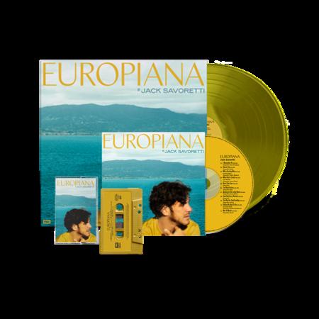 Jack Savoretti: EUROPIANA – SIGNED ULTIMATE ALBUM BUNDLE