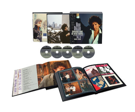 Bob Dylan: Springtime In New York: The Bootleg Series Vol. 16 (1980 – 1985): Deluxe Edition 5CD