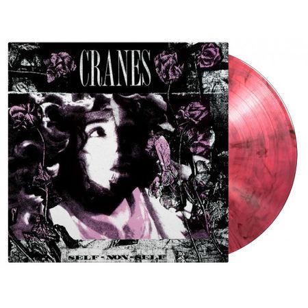 Cranes: Self Non-Self: Limited Black and Pink Swirl Vinyl