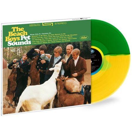 The Beach Boys: Pet Sounds: Exclusive Green + Yellow Split Coloured Vinyl