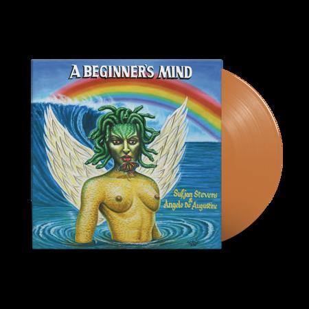 Sufjan Stevens: A Beginner's Mind: Pumpkin Head Orange Vinyl LP + Exclusive Hand-Numbered Litho Print