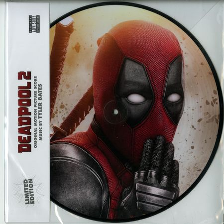 Tyler Bates: Deadpool 2 [Original Score]: Limited Edition Picture Disc