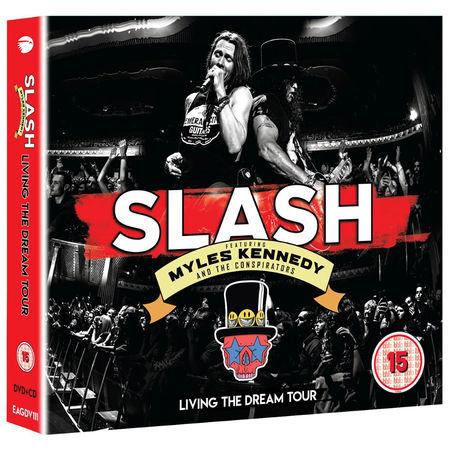 Slash ft Myles Kennedy & The Conspirators: Living The Dream Tour (DVD/2CD)