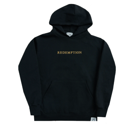 Bob Marley: Washed Black Redemption Hoodie