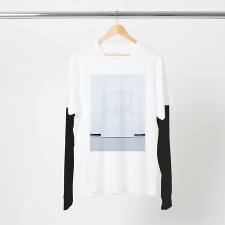 The 1975: THE 1975 SQUARE LOGO LAYERED LS T-SHIRT