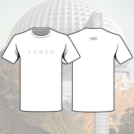 Fryars: Fryars Power White Small T-Shirt