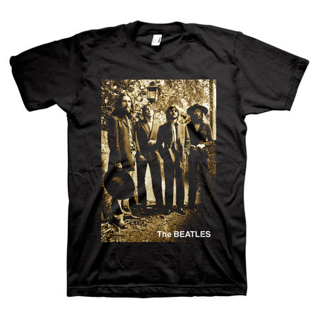 The Beatles: Sepia 1969 T-Shirt - Small