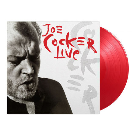 Joe Cocker: Live: Limited Edition Gatefold Red Vinyl