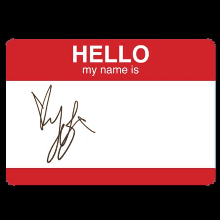 Yungblud: Yungblud SIGNED Sticker