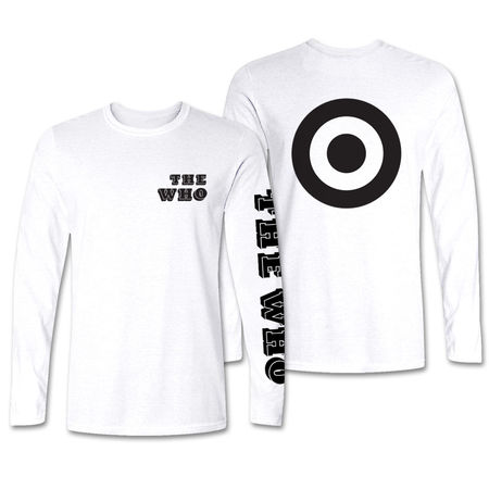 The Who: Bold Black Target Longsleeve
