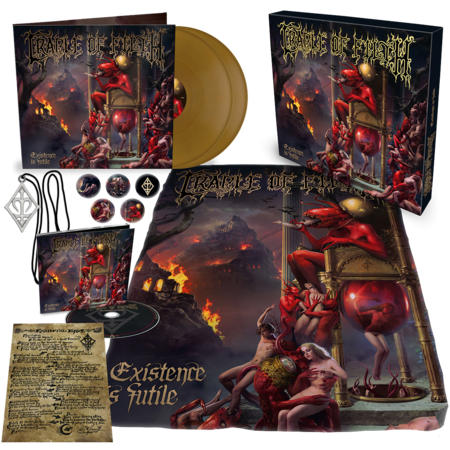 Cradle Of Filth: Existence Is Futile: Limited Edition Box Set