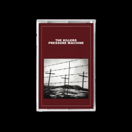 The Killers: PRESSURE MACHINE RED COVER CASSETTE