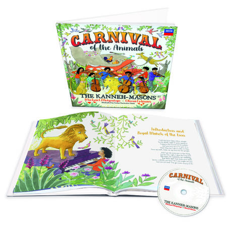 The Kanneh-Masons: Signed Carnival of the Animals Deluxe CD