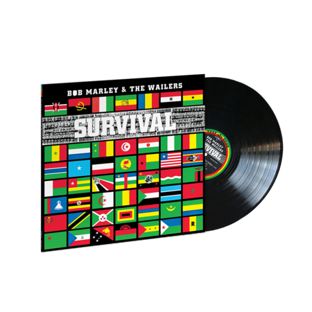 Bob Marley and The Wailers: Survival (Jamaican Pressing LP)