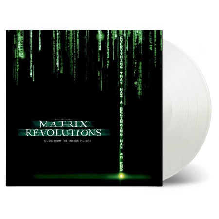 Original Soundtrack: Matrix Revolutions: Limited Edition Clear Vinyl