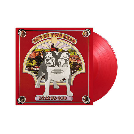 Status Quo: Dog of Two Head: Limited Edition Transparent Red Vinyl