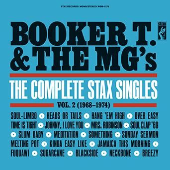 Booker T & The MG's: The Complete Stax Singles Vol. 2 (1968-1974): CD