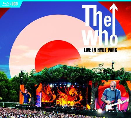 The Who: Live in Hyde Park 06.26.15 (BLU-RAY + 2CD)