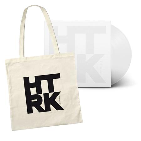 HTRK: Nostalgia: Limited Edition White Vinyl + Exclusive Canvas Tote Bag