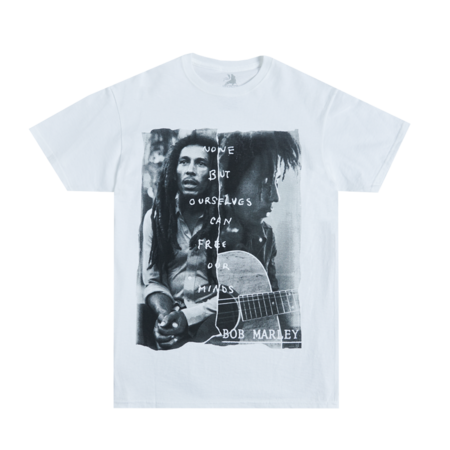 Bob Marley: Free Our Mind White T-Shirt