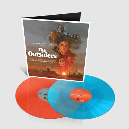 Original Soundtrack: The Outsiders: Limited Edition Sky Blue + Orange Sunset Vinyl