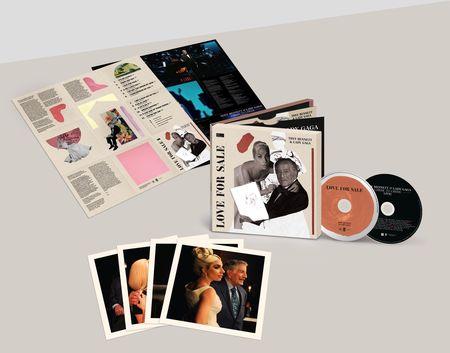 Tony Bennett & Lady Gaga: Love For Sale International Deluxe 2CD