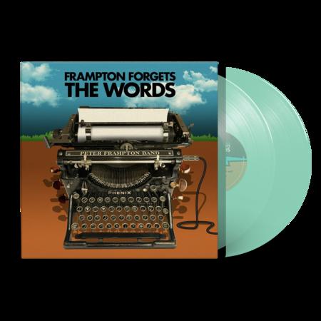 Peter Frampton: Peter Frampton Forgets The Words: Exclusive Coke Bottle Clear Vinyl 2LP