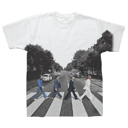 The Beatles: Abbey Road Sublimination T-Shirt