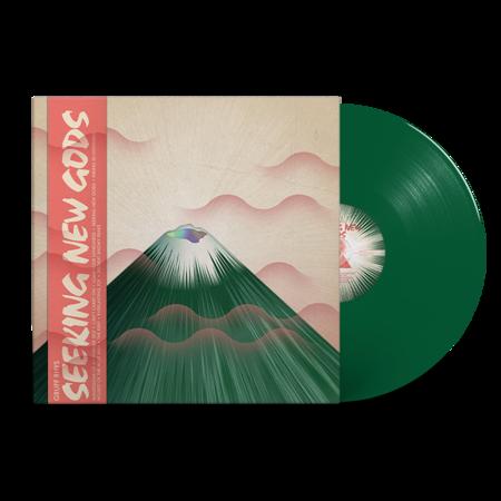 Gruff Rhys: Seeking New Gods: Dark Green Vinyl LP + Signed Postcard