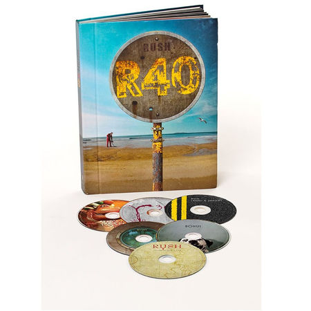 Rush: Rush 40 (6 Blu-Ray Boxed Set)