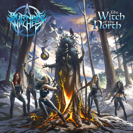Burning Witches: The Witch of the North: Limited Edition Digipack CD + Signed Photocard